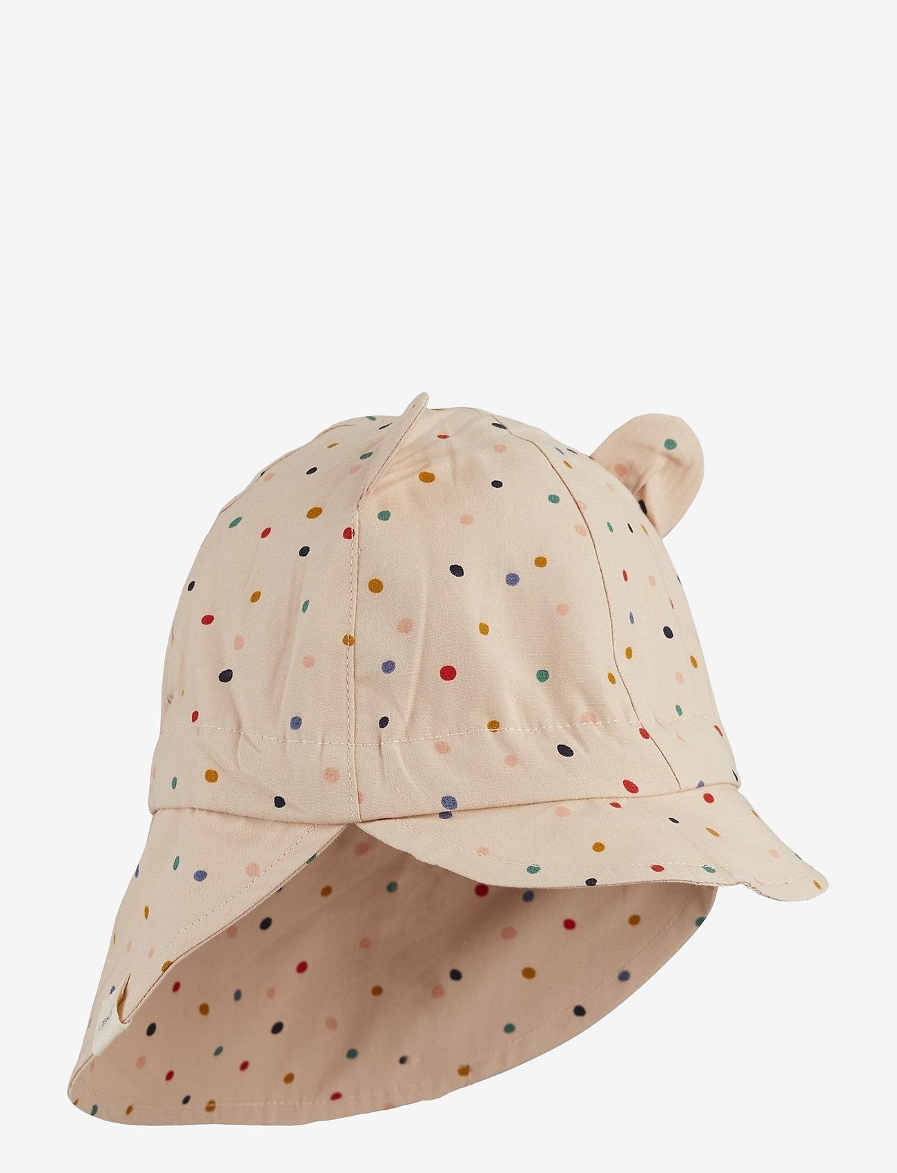Liewood - Gorm sun hat - solhat - confetti mix - 0