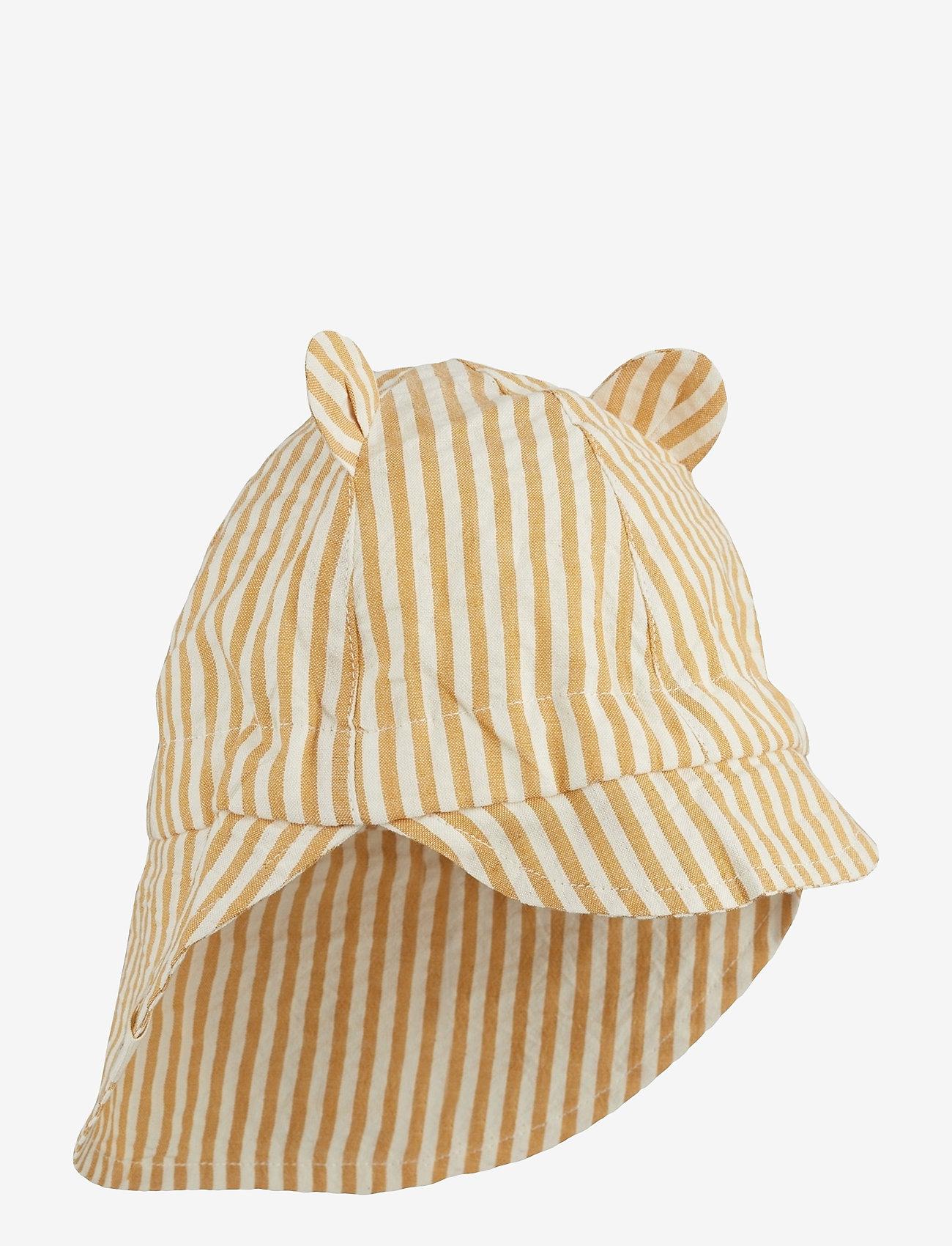 Liewood - Gorm sun hat - huer & kasketter - y/d stripe - 0