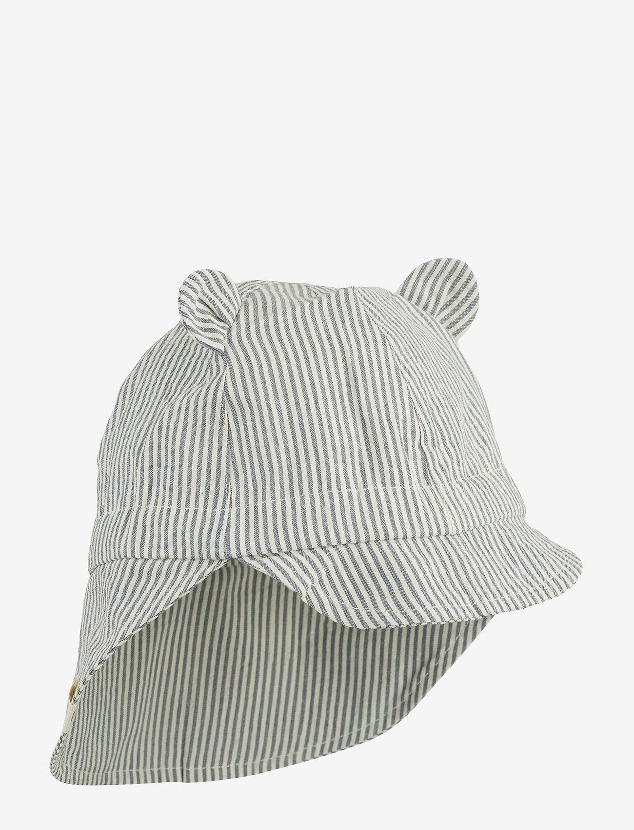 Liewood - Gorm sun hat - solhat - y/d stripe - 0