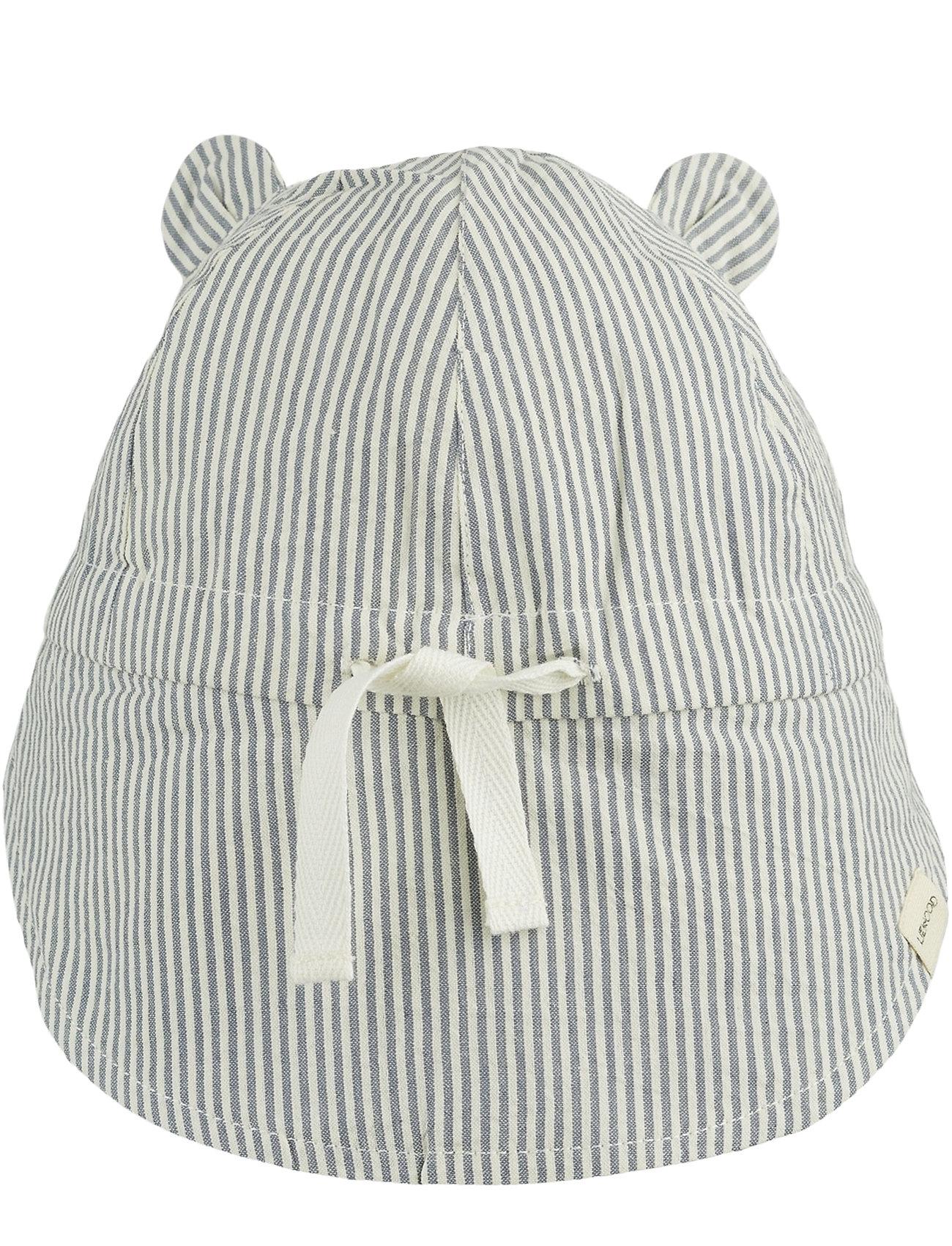 Liewood - Gorm sun hat - solhat - y/d stripe - 1