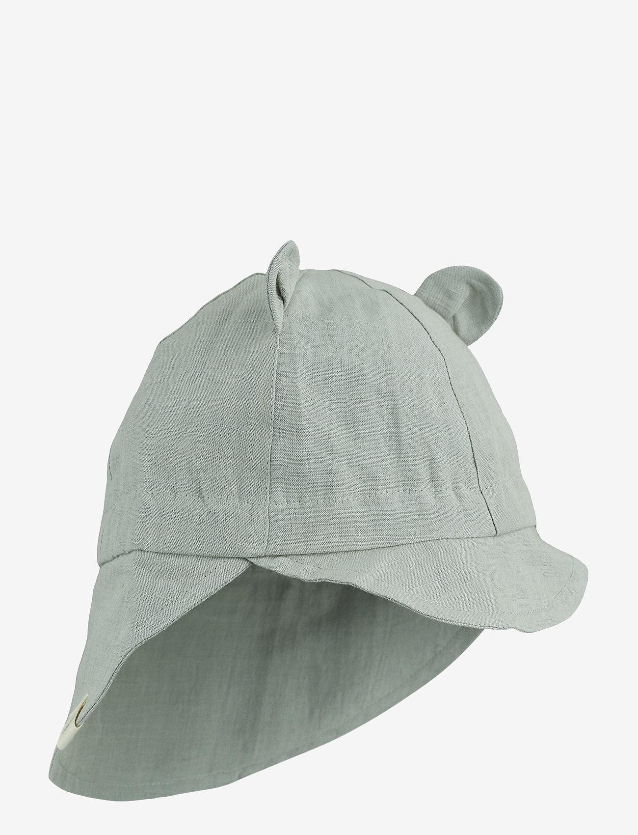 Liewood - Eric sun hat - solhat - dove blue - 0