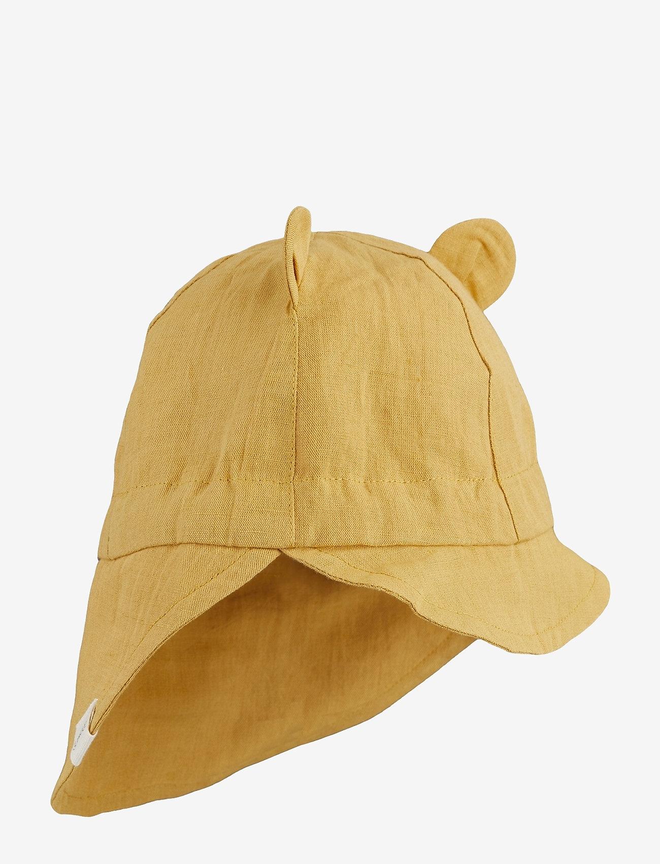 Liewood - Eric sun hat - solhat - yellow mellow - 0