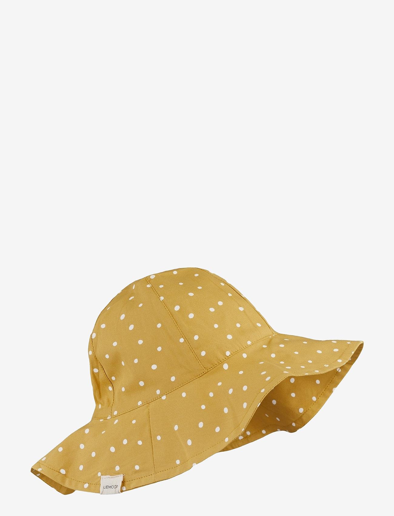 Liewood - Amelia sun hat - solhat - confetti yellow mellow mix - 0