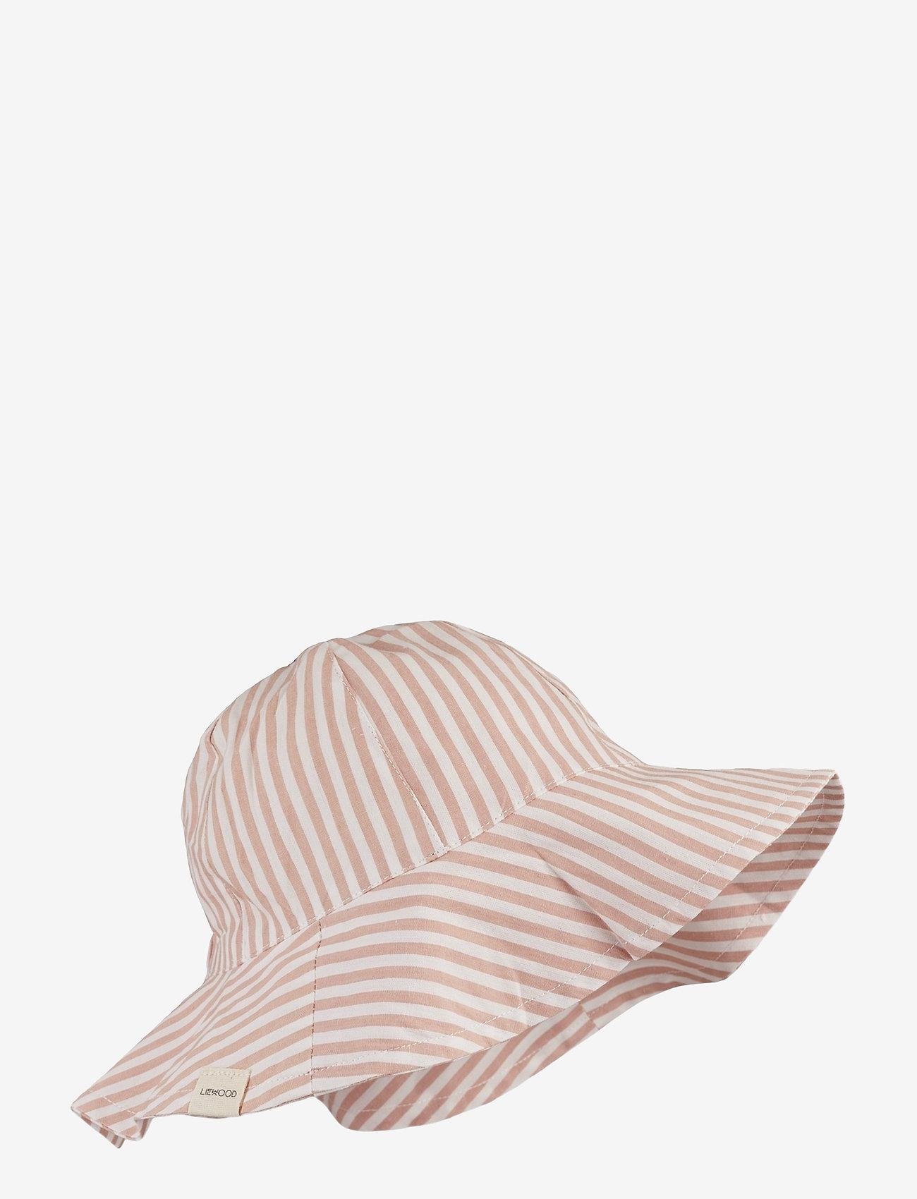 Liewood - Amelia sun hat - huer & kasketter - y/d stripe - 0