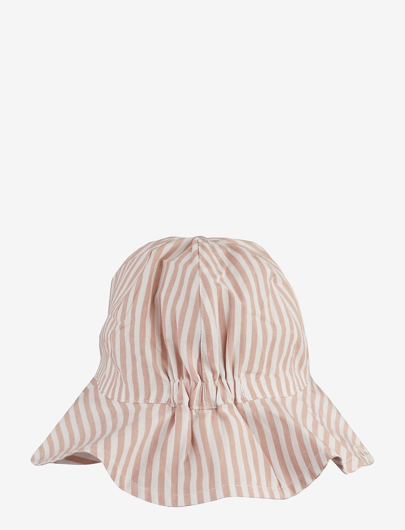 Liewood - Amelia sun hat - huer & kasketter - y/d stripe - 1