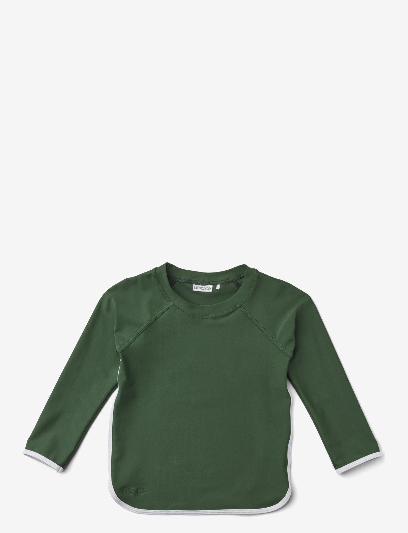 Liewood - Manta swim tee - uv-clothing - garden green - 0