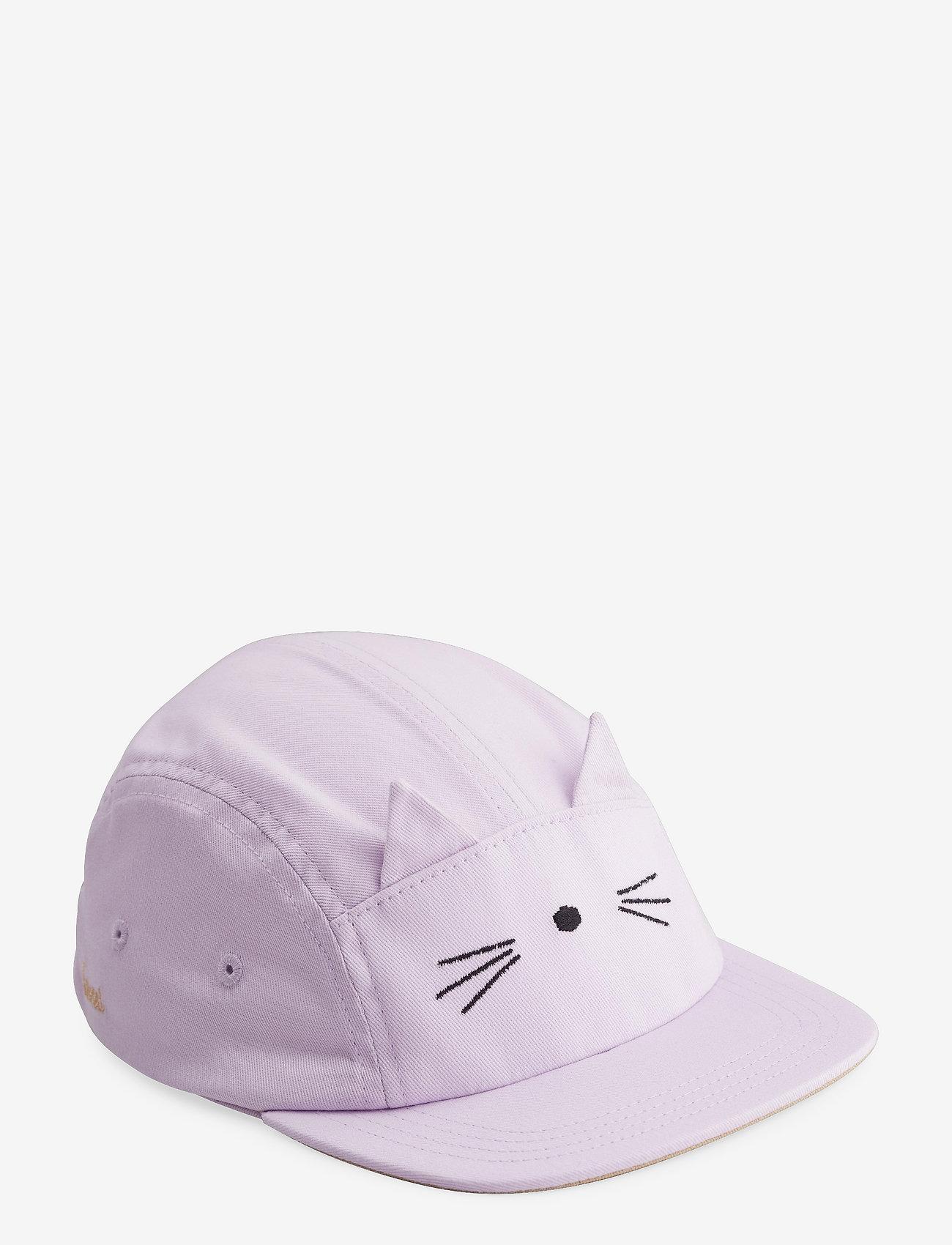 Liewood - Rory cap - huer & kasketter - cat light lavender - 0