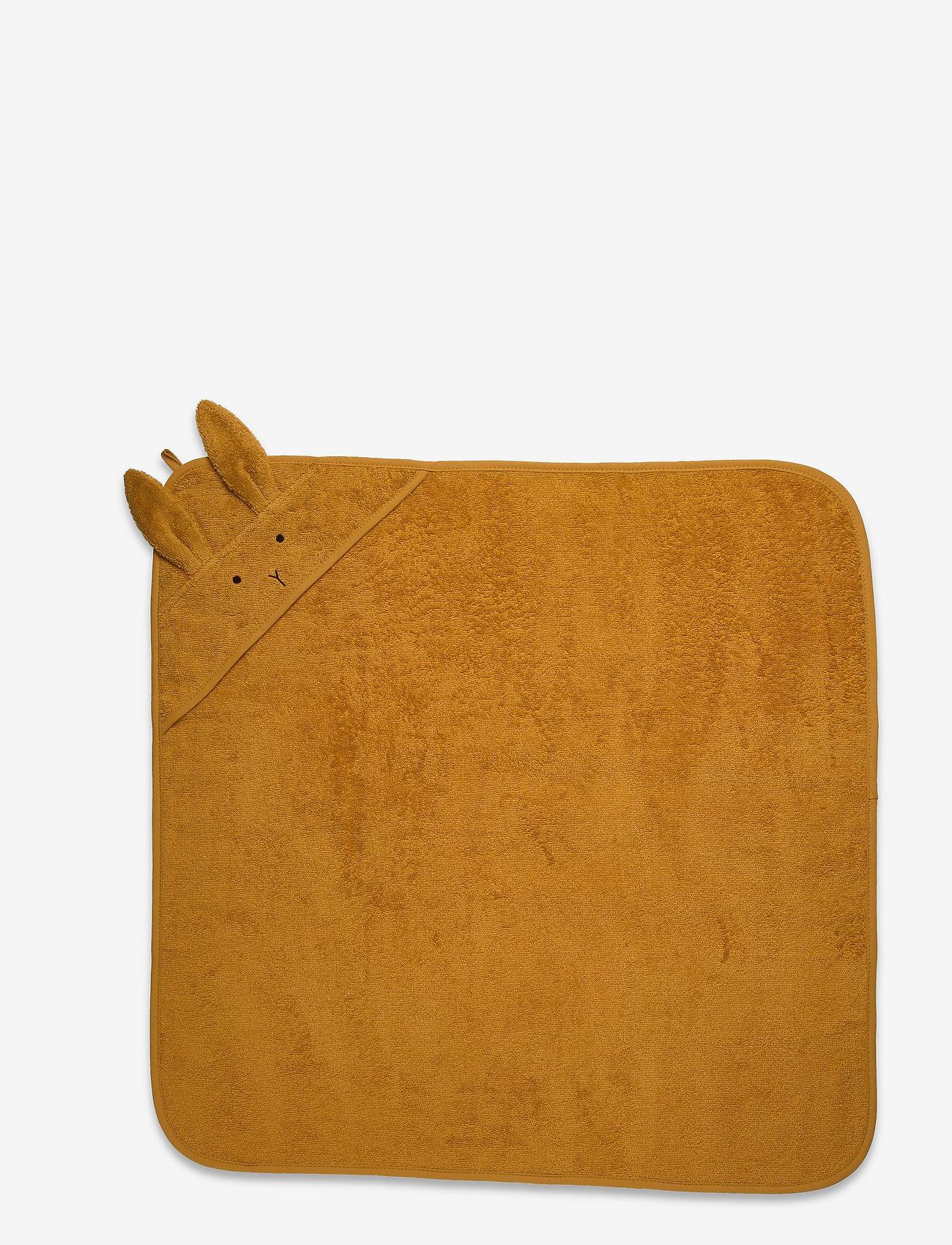 Liewood - Albert hooded towel 2-pack - accessoires - mustard mix - 1