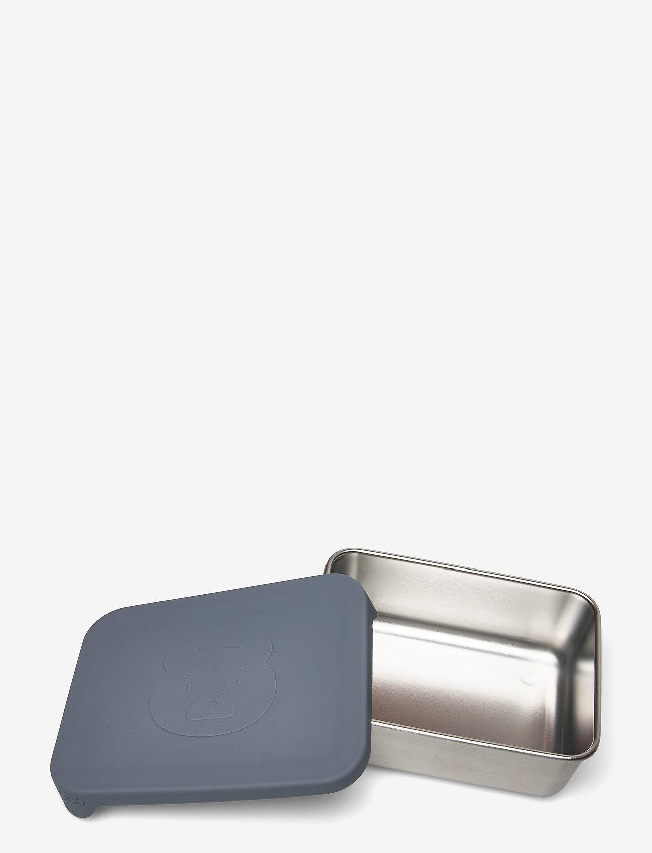 Liewood - Ako snack box - boîtes à lunch - mr bear blue wave - 1