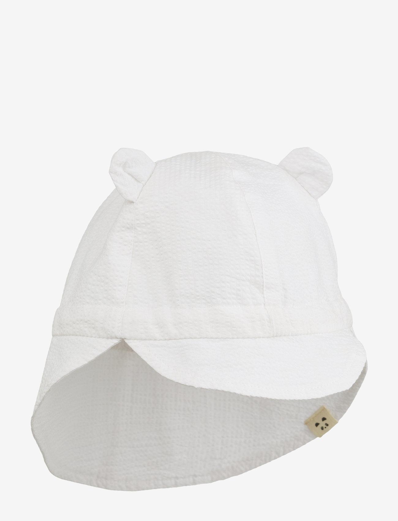 Liewood - Levi sun hat - solhat - white - 0