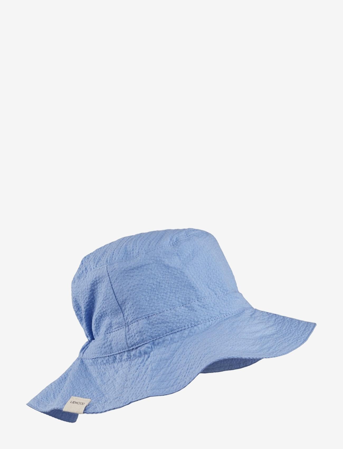 Liewood - Loke bucket hat - solhat - sky blue - 0