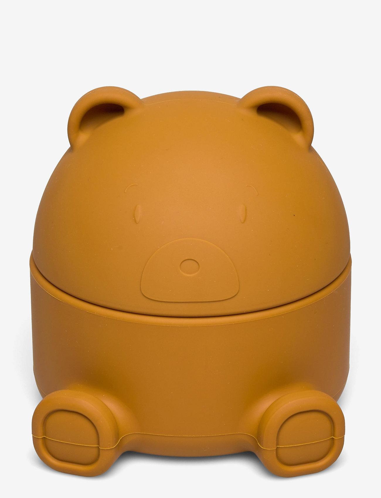 Liewood - Murphy treasure box - compartiment - mr bear mustard - 0
