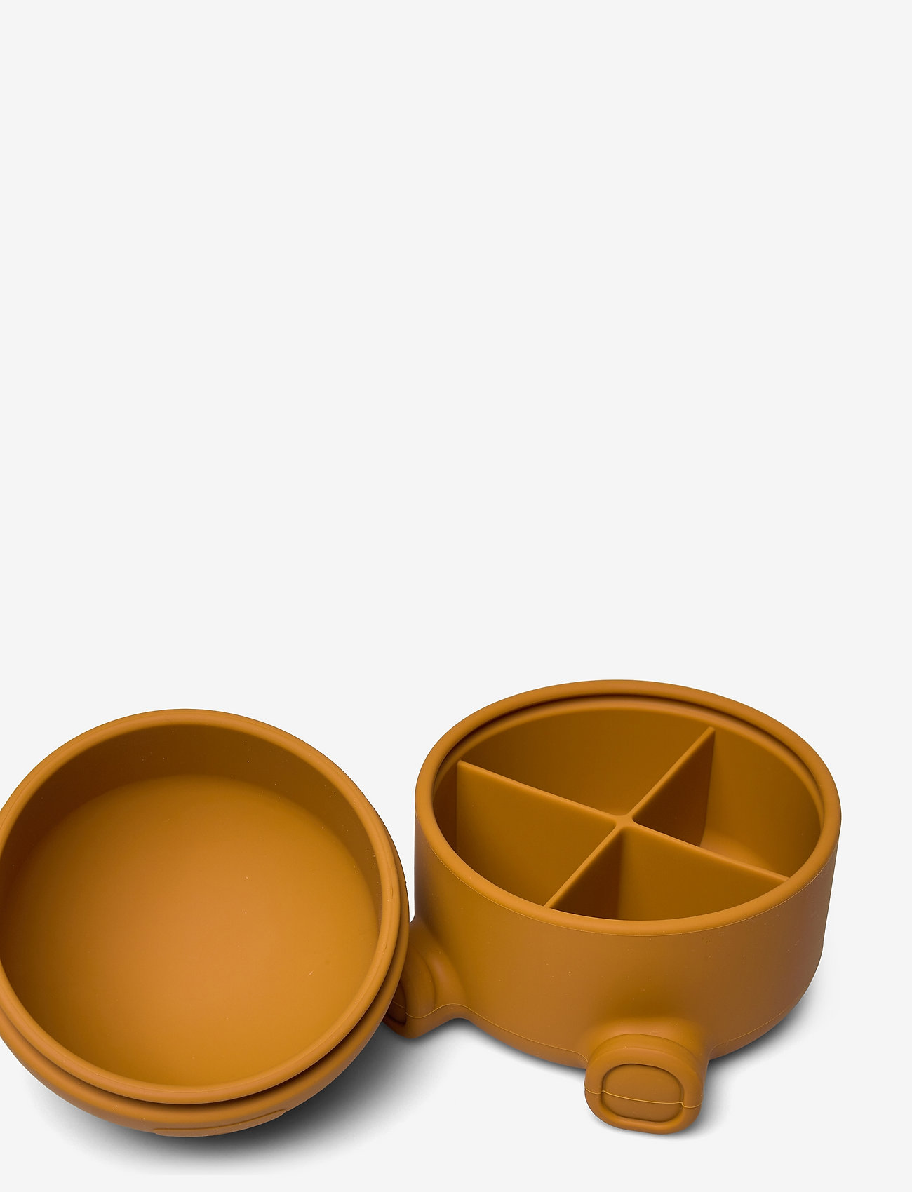 Liewood - Murphy treasure box - compartiment - mr bear mustard - 1