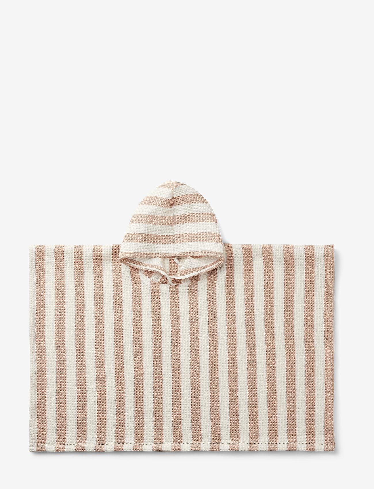 Liewood - Paco poncho - bath ponchos - y/d stripe - 0