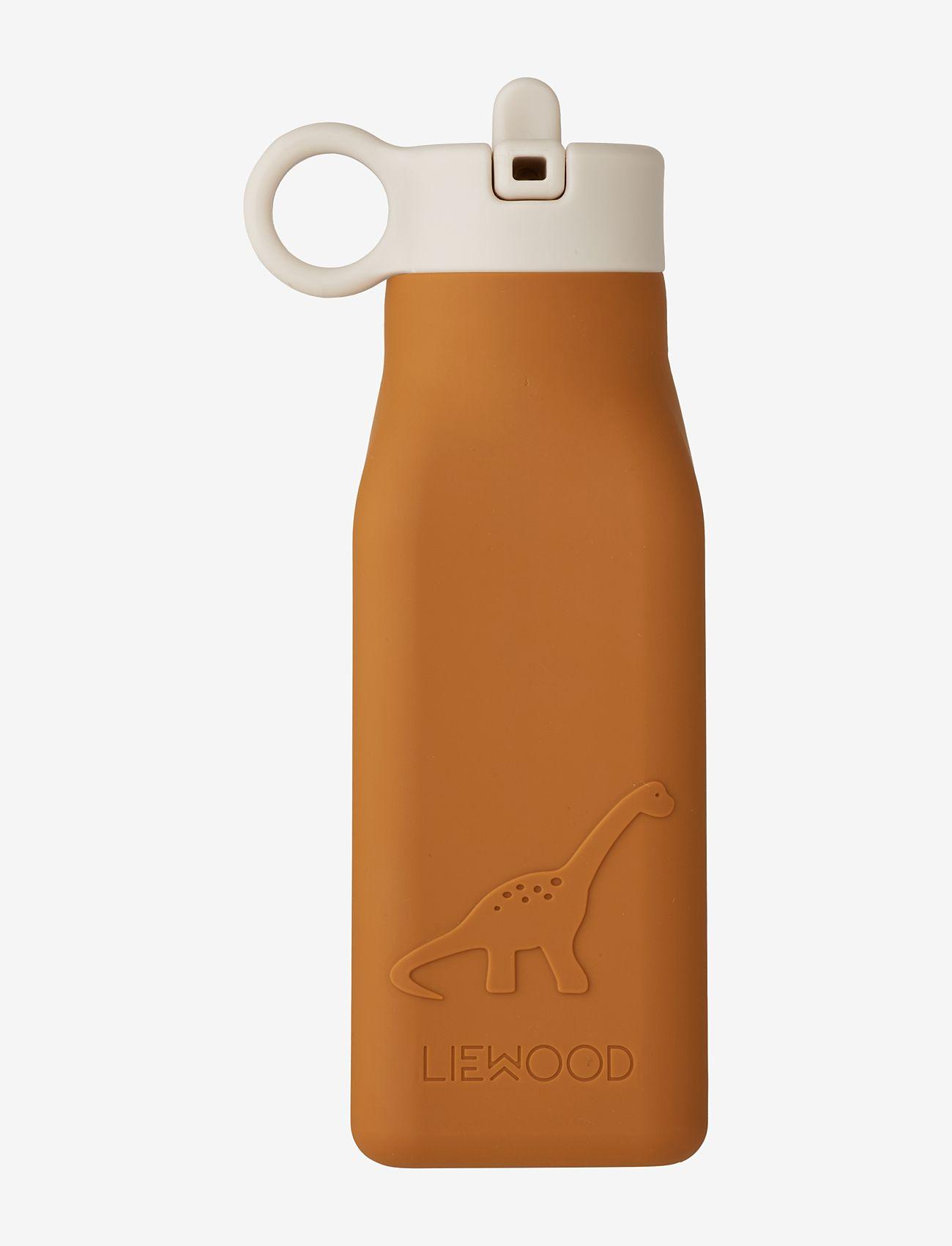 Liewood - Warren bottle - water bottles - dino mustard - 0