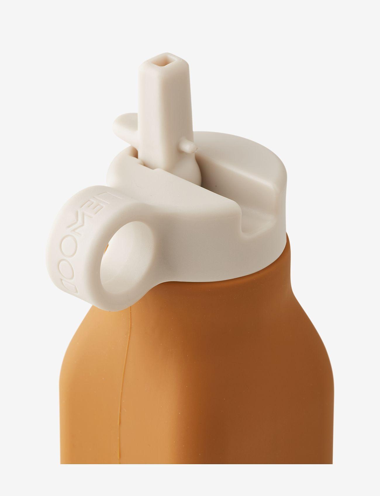 Liewood - Warren bottle - water bottles - dino mustard - 1