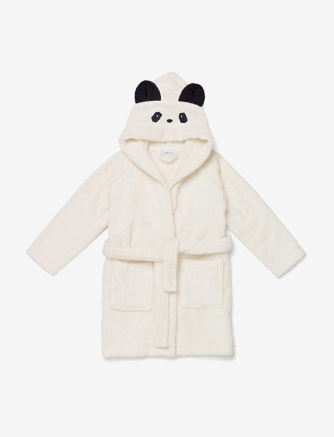 Liewood - Lily bathrobe - bath time - panda creme de la creme - 0