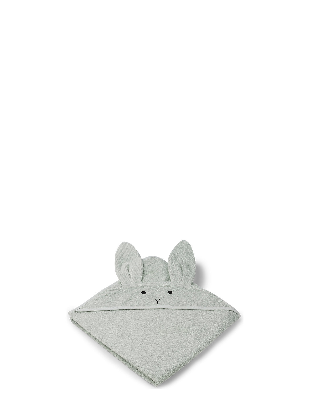 Liewood Augusta hooded towel - RABBIT DUSTY MINT