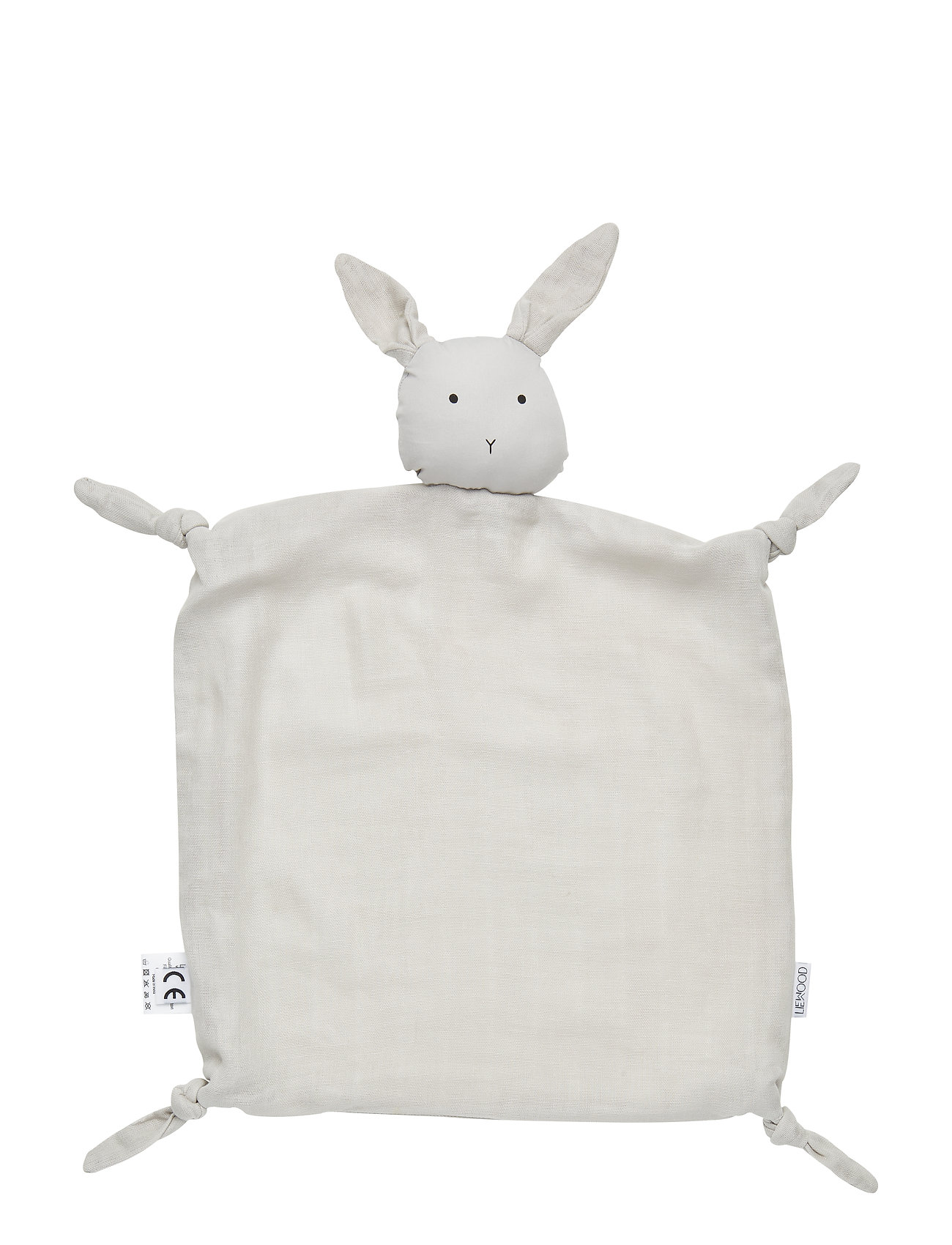 Liewood Agnete cuddle cloth - RABBIT DUMBO GREY