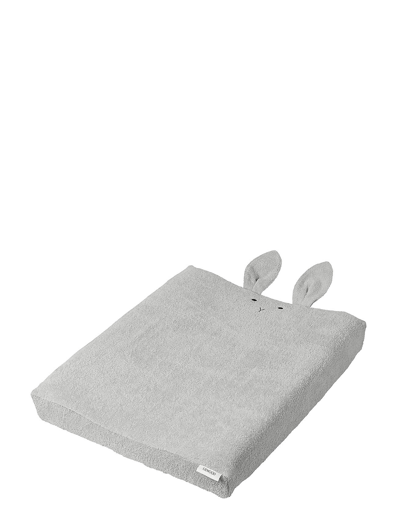 Liewood Egon changing mat cover - RABBIT DUMBO GREY