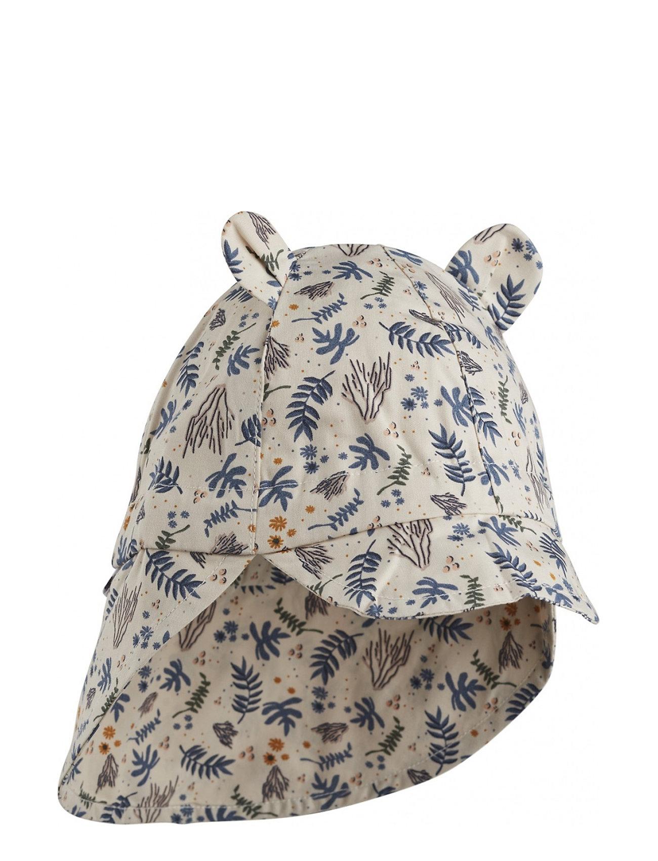 Liewood Gorm sun hat - CORAL FLORAL/MIX