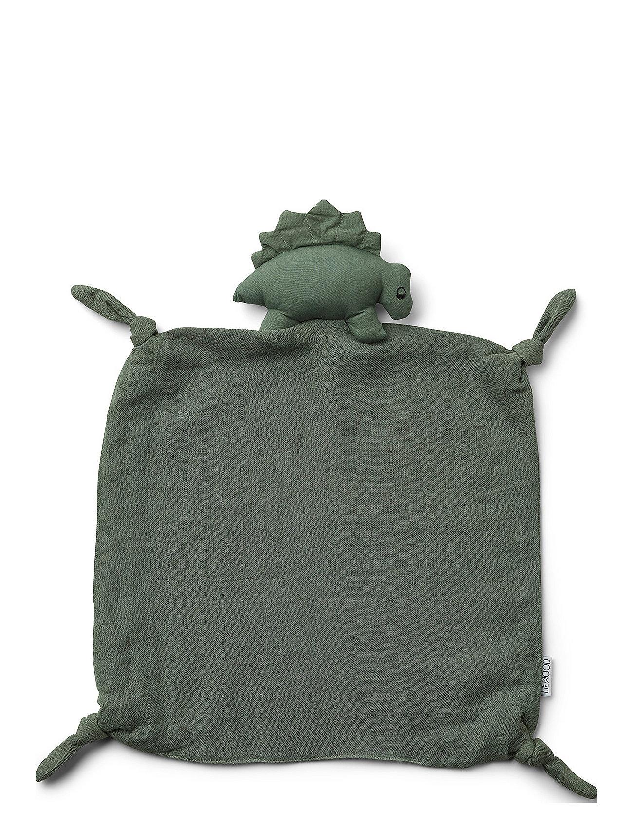 Liewood Agnete cuddle cloth - DINO FAUNE GREEN