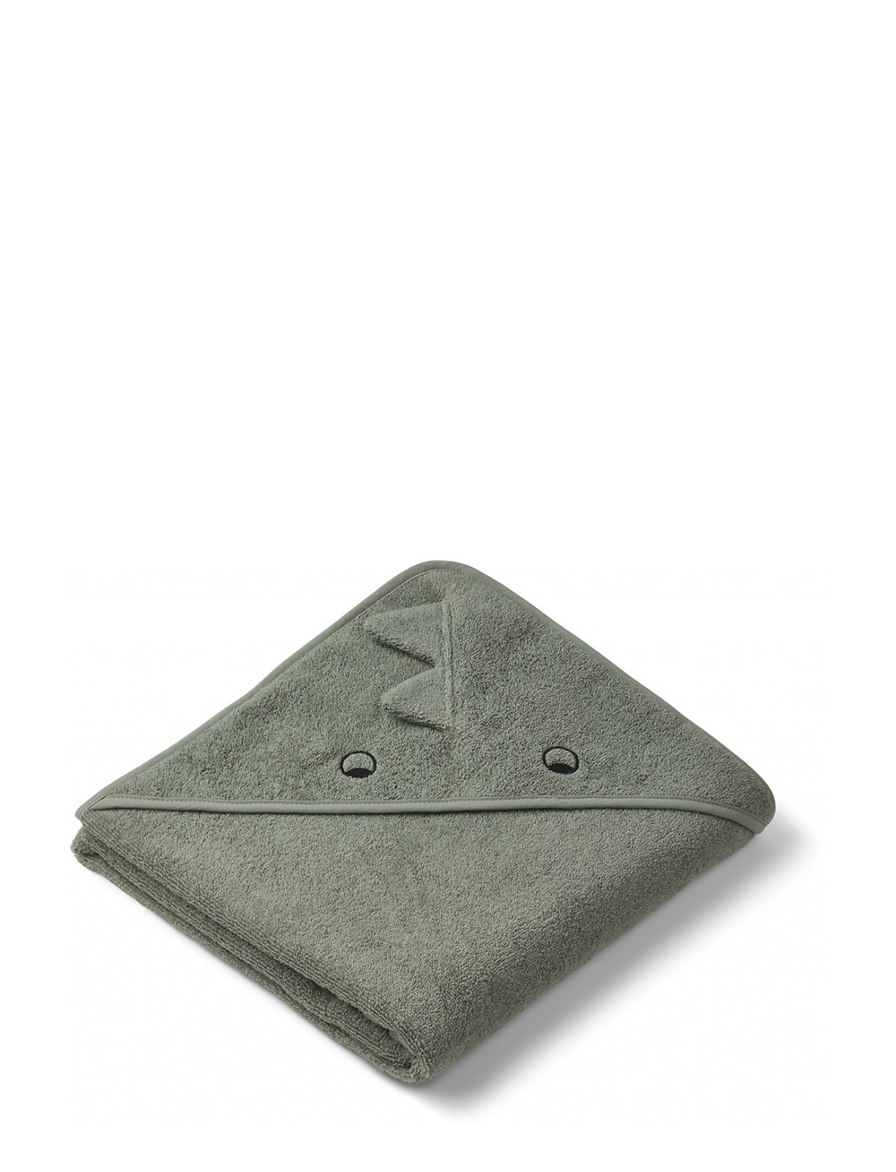 Liewood Augusta hooded towel - DINO FAUNE GREEN