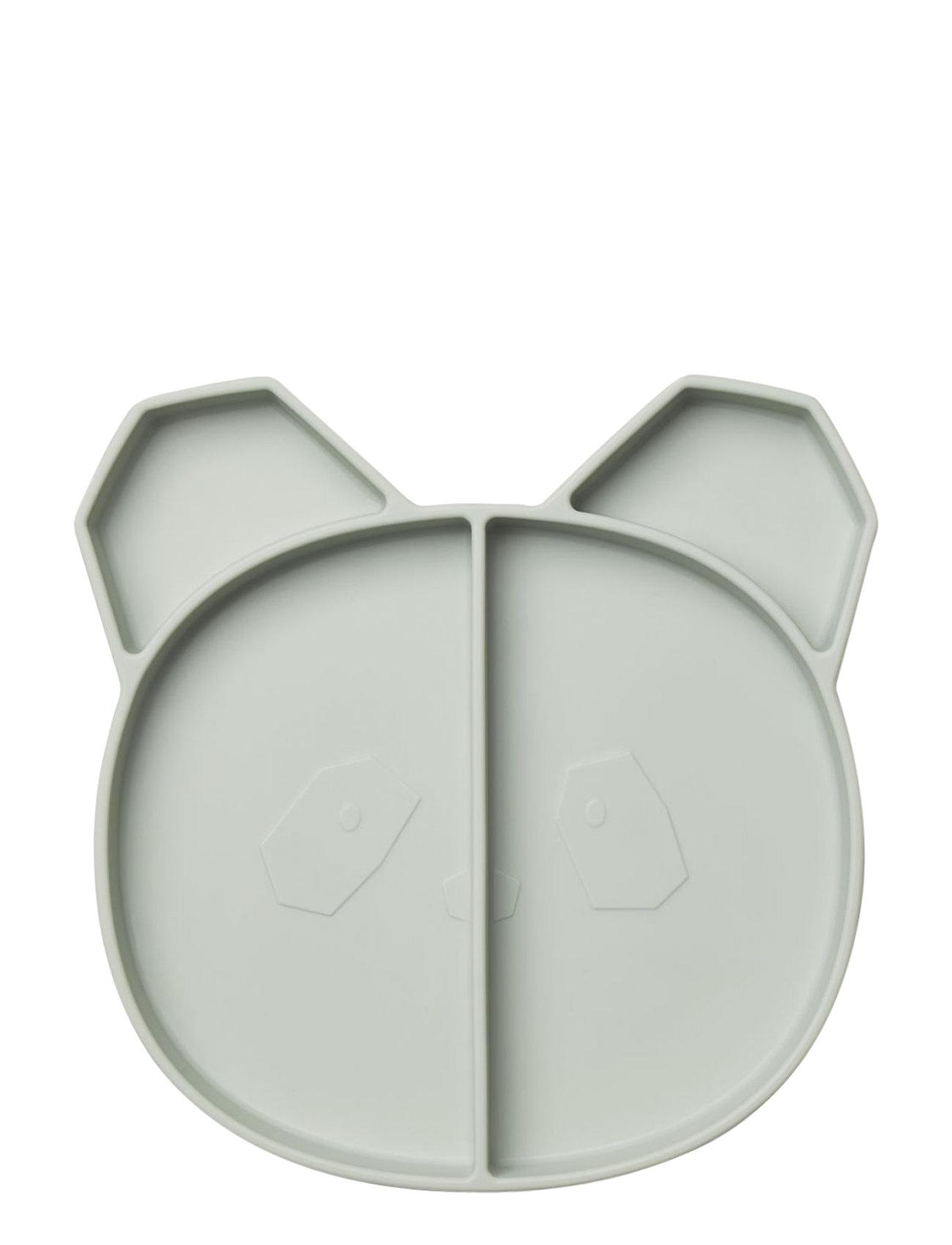 Liewood Maddox multi plate - PANDA DUSTY MINT