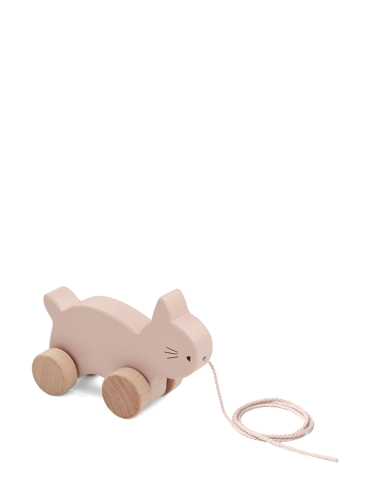 Liewood Abby pull along toy - CAT ROSE