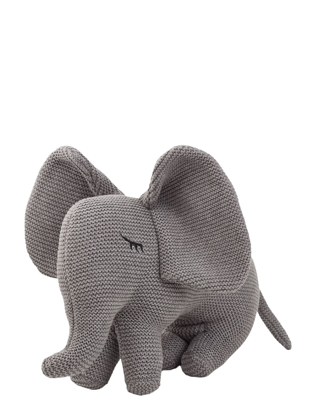 Liewood Dextor knit teddy - ELEPHANT GREY MELANGE