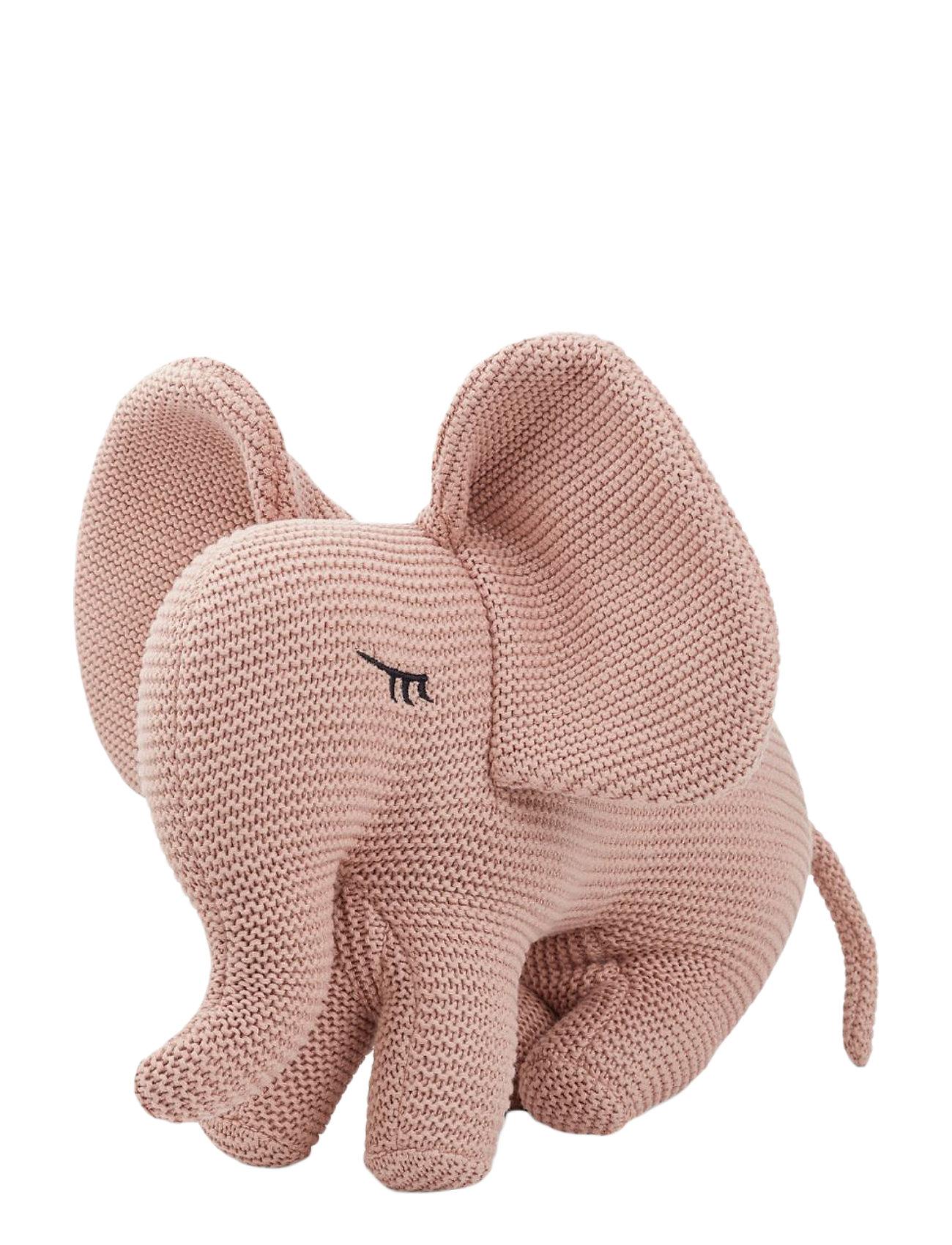 Liewood Dextor knit teddy - ELEPHANT ROSE