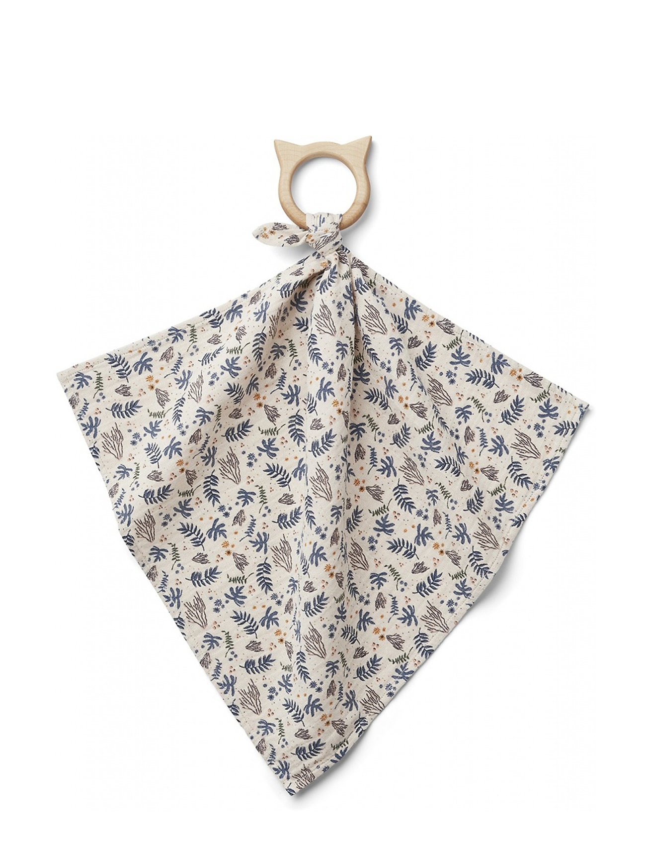 Liewood Dines teether cuddle cloth - CORAL FLORAL/MIX