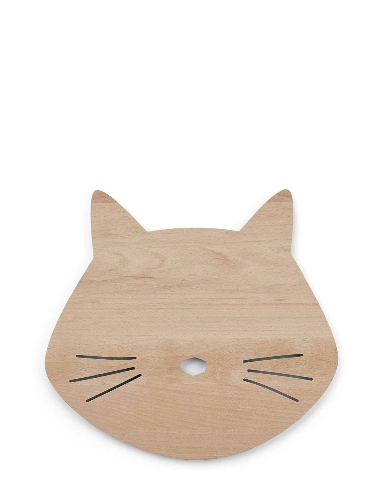 Liewood Troy wooden lamp - CAT NATURAL