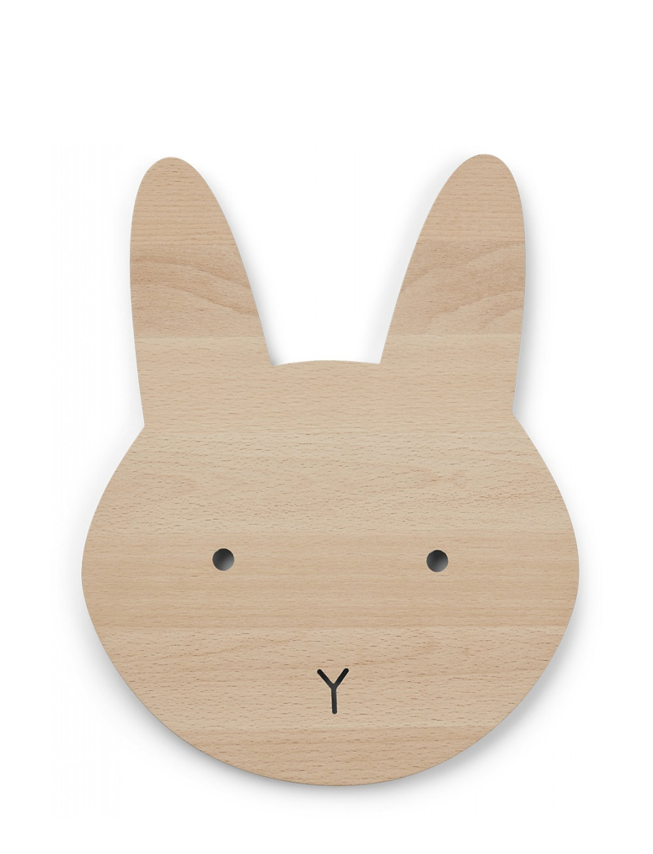 Liewood Troy wooden lamp - RABBIT NATURAL