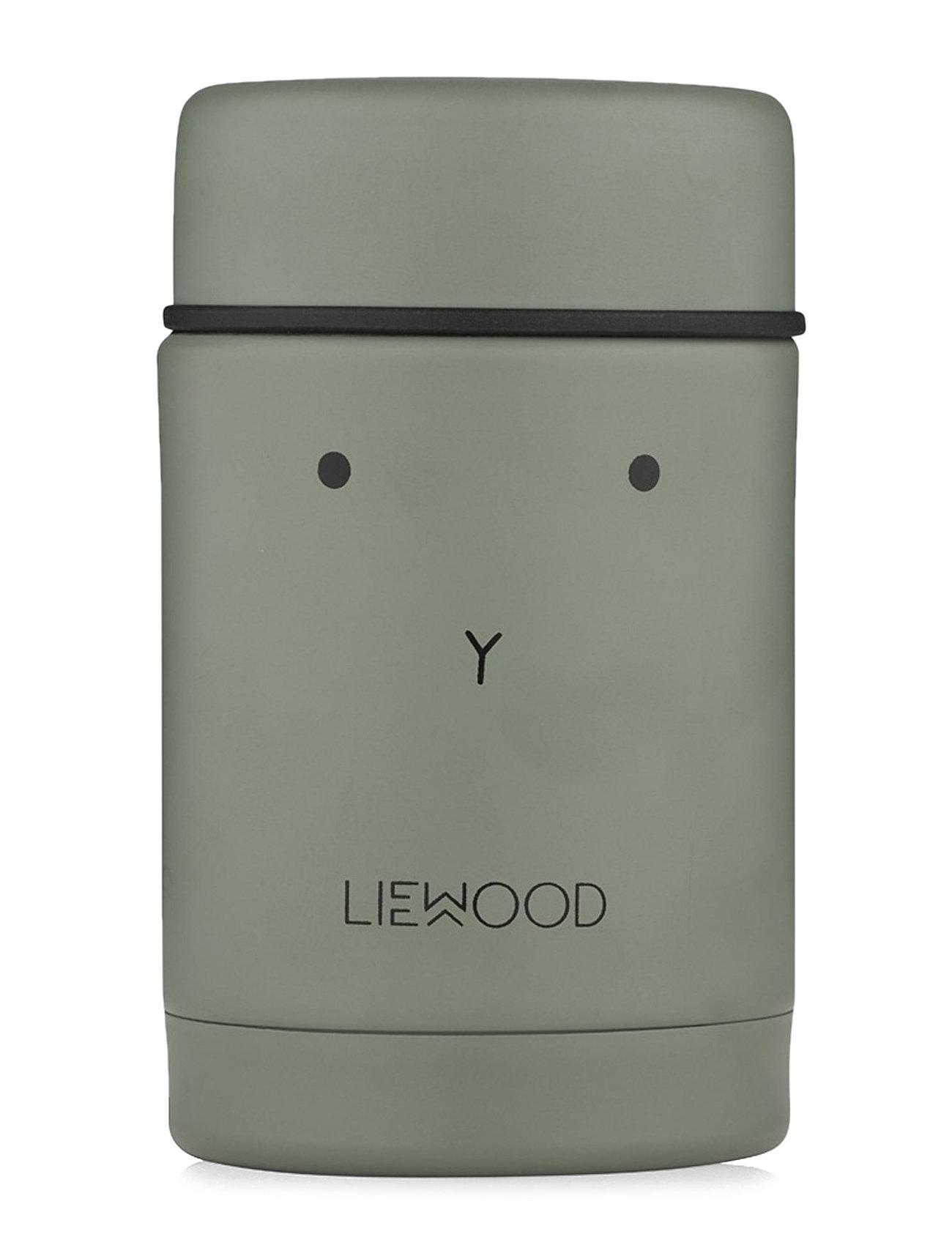 Image of Nadja Food Jar Home Meal Time Lunch Boxes Grøn Liewood (3432323791)