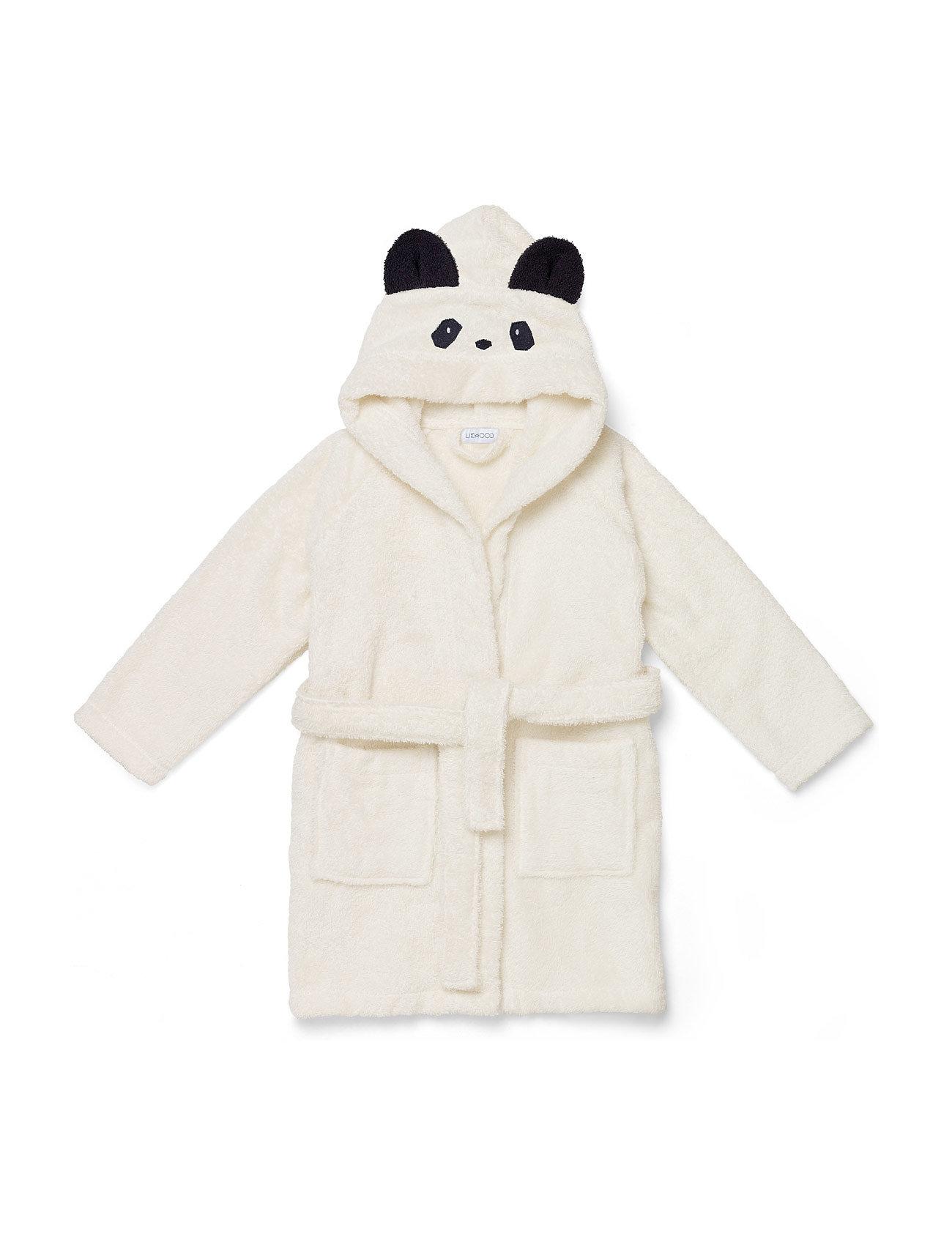 Liewood Lily bathrobe - PANDA CREME DE LA CREME
