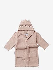 Liewood - Lily bathrobe - szlafroki - cat rose - 0