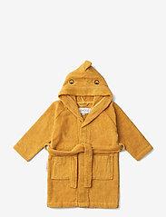 Liewood - Lily bathrobe - szlafroki - dino yellow mellow - 0
