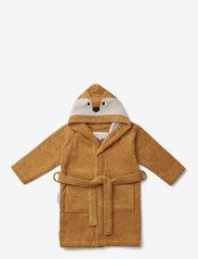 Liewood - Lily bathrobe - bathrobes - fox mustard - 0