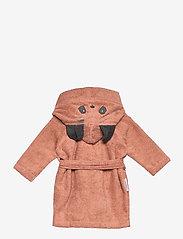 Liewood - Lily bathrobe - szlafroki - panda tuscany rose - 1