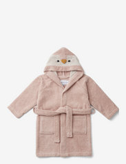 Liewood - Lily bathrobe - bathrobes - penguin rose - 0