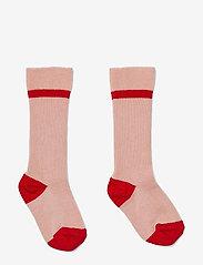 Liewood - Mia knee socks 2-pack - skarpetki - rose - 0