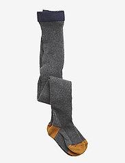 Liewood - Linea stockings - rajstopy - grey melange - 0