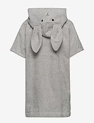 Liewood - Lela cape - bathrobes - rabbit dumbo grey - 1