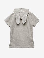 Liewood - Lela cape - bathrobes - rabbit dumbo grey - 2
