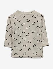 Liewood - Noah swim tee - koszulki - panda dumbo grey - 0
