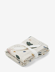 Liewood - Hannah muslin cloth print 2 pack - pieluszki materiałowe - dino mix - 0