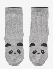 Silas cotton socks - 2 pack - PANDA GREY MELANGE