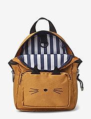 Liewood - Saxo mini backpack - plecaki - cat mustard - 2
