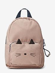 Liewood - Saxo mini backpack - plecaki - cat rose - 0